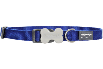Red Dingo Dog Collar Classic Dark Blue DC-ZZ-DB