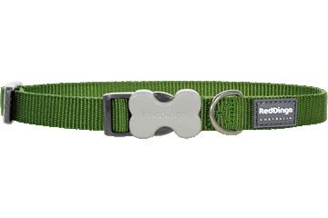 Red Dingo Dog Collar Classic Green DC-ZZ-GR