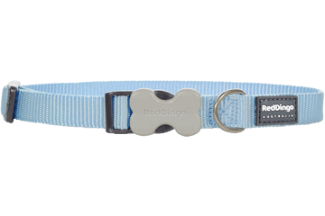 Red Dingo Dog Collar Classic Light Blue DC-ZZ-LB