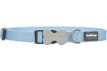 Red Dingo Dog Collar Classic Light Blue DC-ZZ-LB