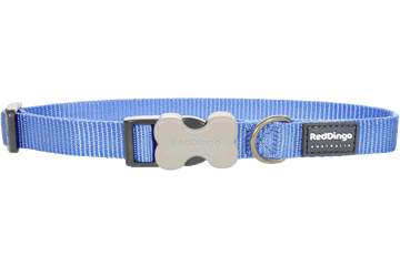 Red Dingo Dog Collar Classic Medium Blue DC-ZZ-MB
