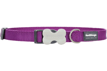 Red Dingo Hondenhalsband Klassiek purper DC-ZZ-PU