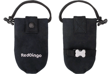 Red Dingo Dingo Doo Bag Microfiber Nero DD-DE-BB