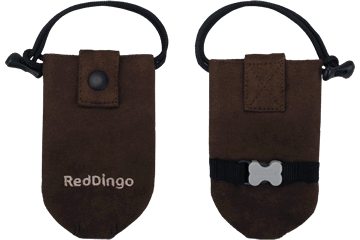 Red Dingo Dingo Doo Bag Microfiber Chocolate DD-DE-BR