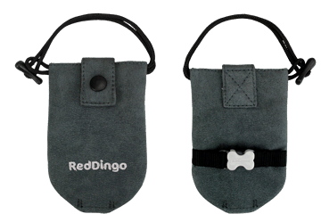 Red Dingo Dingo Doo Bag Microfiber Grey DD-DE-GY