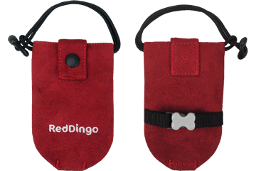 Red Dingo Dingo Doo Bag Microfiber Red DD-DE-RE
