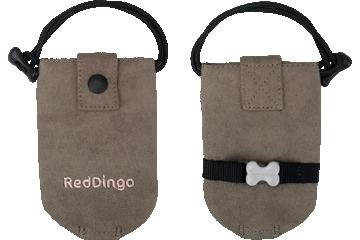 Red Dingo Dingo Kotbeutel Mikrofaser Taupe DD-DE-TA