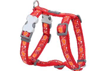 Red Dingo 犬用ハーネス さわやかな愛 赤 DH-BZ-RE
