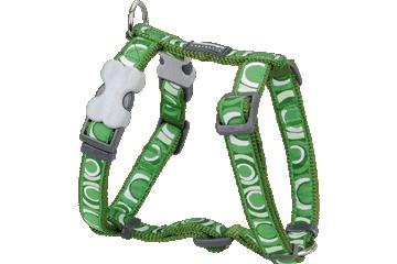 Red Dingo Harnais pour chien Circadelic Vert DH-CI-GR