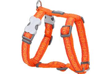Red Dingo Dog Harness Cosmos Arancione DH-CO-OR