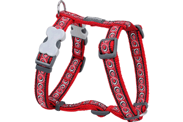 Red Dingo Dog Harness Cosmos Rosso DH-CO-RE