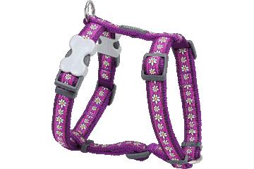 Red Dingo 犬用ハーネス デイジーチェーン 紫色 DH-DC-PU
