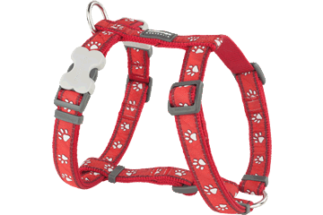 Red Dingo Dog Harness Desert Paws Rosso DH-DP-RE