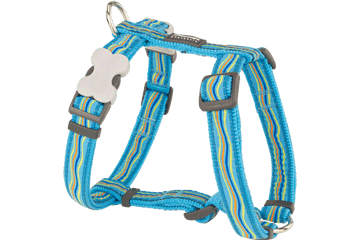 Red Dingo Dog Harness Dreamstream Turquoise DH-DS-TQ