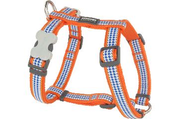 Red Dingo Dog Harness Fang It Arancione DH-FG-OR