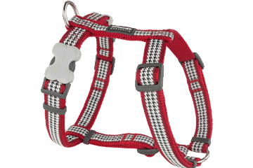 Red Dingo Dog Harness Fang It Rosso DH-FG-RE