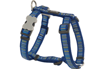 Red Dingo Dog Harness Lotzadotz Dark Blue DH-LD-DB
