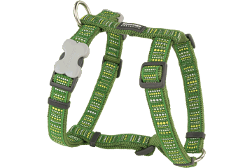 Red Dingo Dog Harness Lotzadotz Verde DH-LD-GR