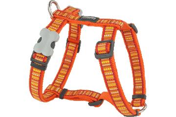 Red Dingo Dog Harness Lotzadotz Arancione DH-LD-OR