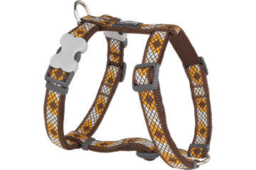 Red Dingo Dog Harness Monty Marrone DH-MY-BR