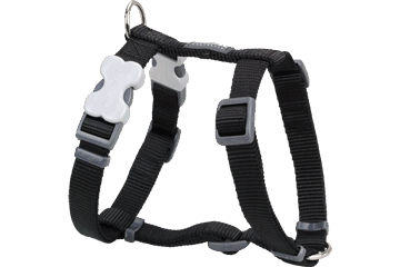 Red Dingo Dog Harness Classic Black DH-ZZ-BB
