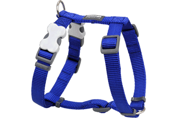 Red Dingo Dog Harness Classic Dark Blue DH-ZZ-DB