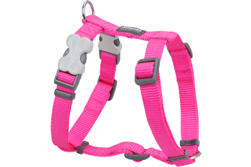 Red Dingo Dog Harness Classic Hot Pink DH-ZZ-HP