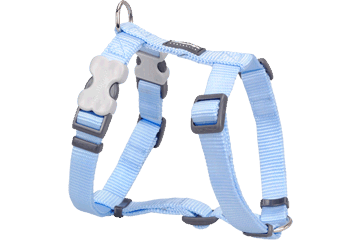 Red Dingo Dog Harness Classic Light Blue DH-ZZ-LB