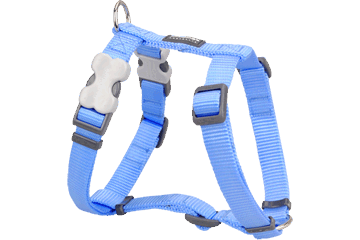 Red Dingo Dog Harness Classic Medium Blue DH-ZZ-MB