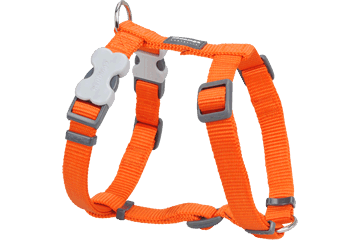 Red Dingo Dog Harness Classic Orange DH-ZZ-OR