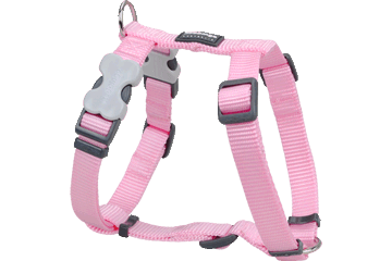 Red Dingo Dog Harness Classic Pink DH-ZZ-PK