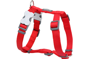 Red Dingo Dog Harness Classic Red DH-ZZ-RE