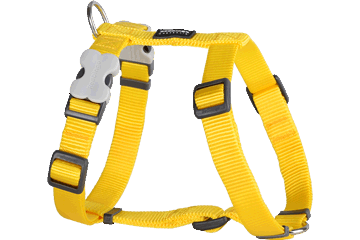 Red Dingo Dog Harness Classic Yellow DH-ZZ-YE