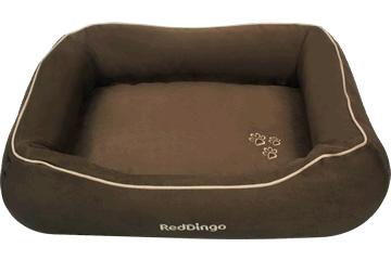 Red Dingo Donut Bed &nbsp: Schokoladenbraun DN-MF-BR