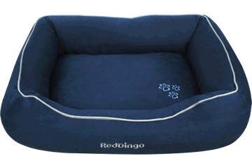 Red Dingo Donut Bed &nbsp: Marine DN-MF-DB