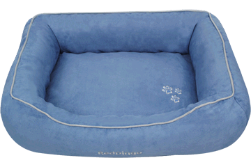 Red Dingo Donut Bed Sky Blue DN-MF-LB
