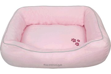 Red Dingo Donut Bed Pink DN-MF-PK