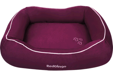 Red Dingo Donut Bed Viola DN-MF-PU