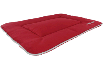Red Dingo Tapis de voyage isolant Acier inoxydable Rouge IA-MF-RE