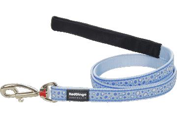 Red Dingo Fixed Length Lead Bedrock Light Blue L4-BE-LB