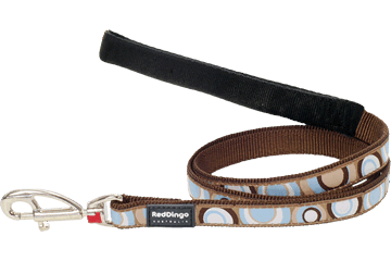 Red Dingo Fixed Length Lead Circadelic Brown L4-CI-BR