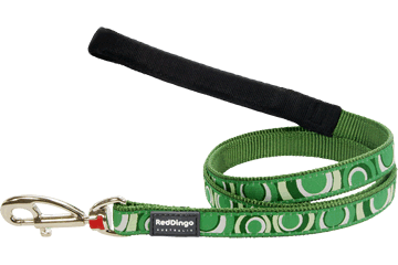 Red Dingo Fixed Length Lead Circadelic Green L4-CI-GR