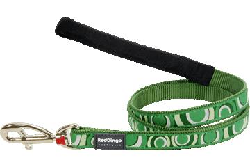 Red Dingo Fixed Length Lead Circadelic Green L4-CI-GR