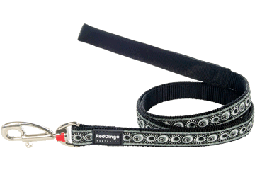 Red Dingo Fixed Length Lead Cosmos Black L4-CO-BB