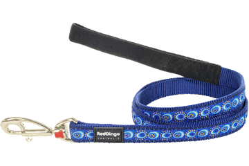 Red Dingo Fixed Length Lead Cosmos Dark Blue L4-CO-DB