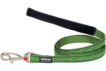 Red Dingo Fixed Length Lead Cosmos Green L4-CO-GR