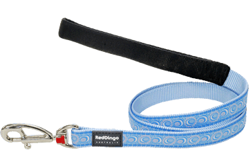 Red Dingo Fixed Length Lead Cosmos Light Blue L4-CO-LB