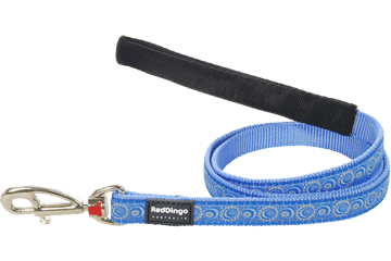 Red Dingo Fixed Length Lead Cosmos Medium Blue L4-CO-MB
