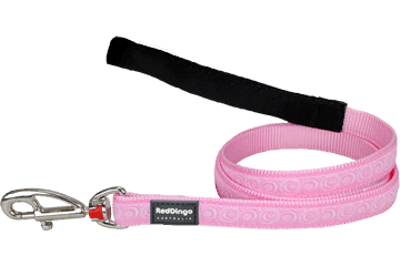 Red Dingo Fixed Length Lead Cosmos Pink L4-CO-PK