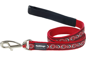 Red Dingo Fixed Length Lead Cosmos Red L4-CO-RE